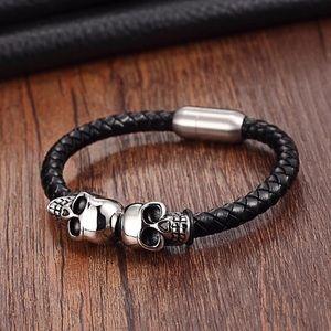 Manly skull 💀 bracelet for men